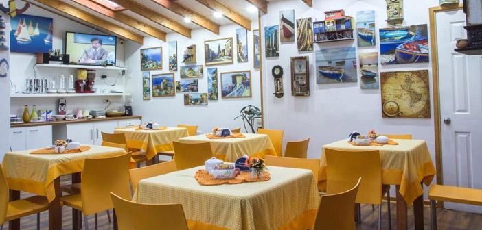 Comedor Habitación Hostal Concepción